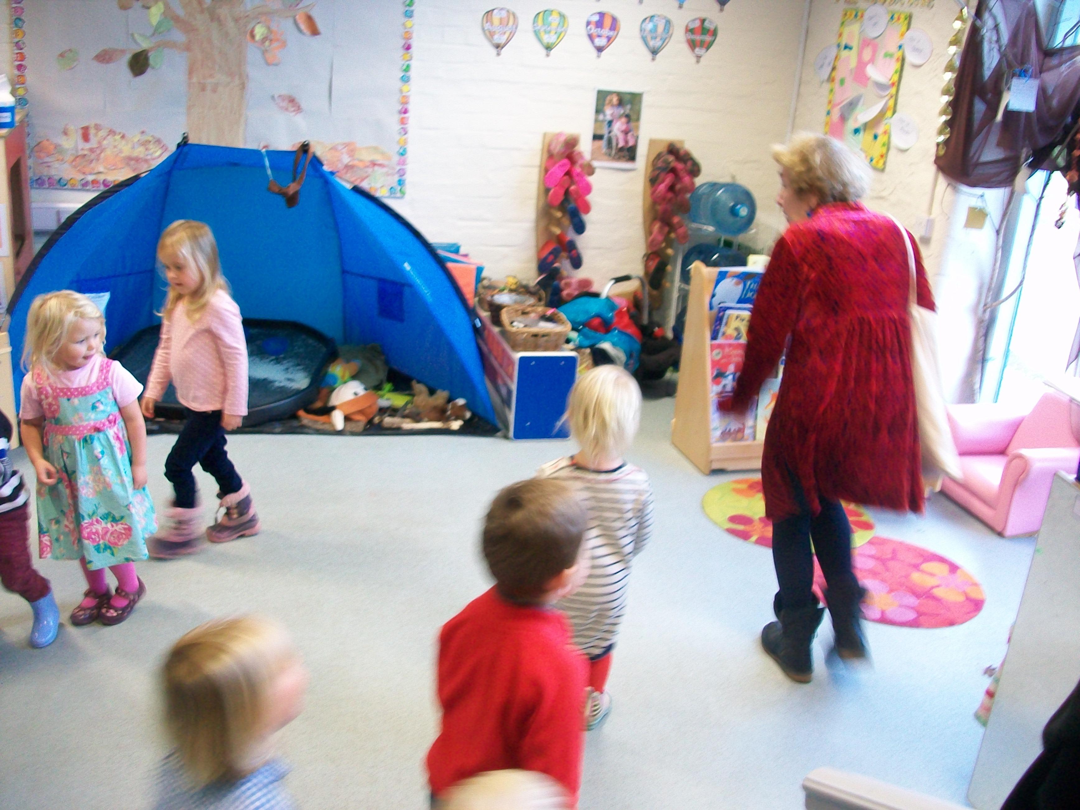 how to get kindergarteners to listen in childcare