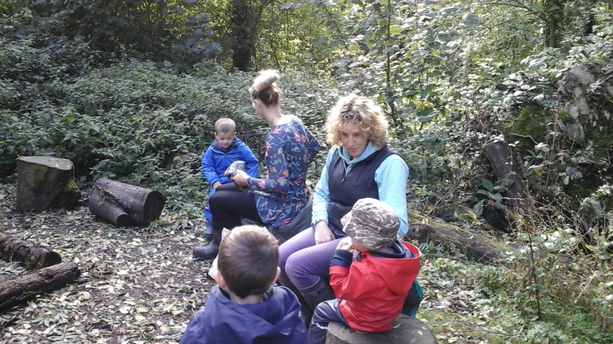 Flying Start Duchy Host Forest School Stay Play for Parents