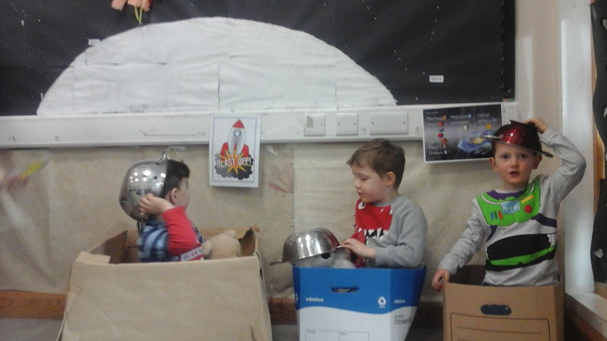 Flying Start @ Redruth Explore Space! - Flying Start childcare ...
